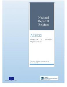 assessing the integration of vulnerable migrants in belgium