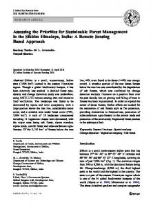 Assessing the Priorities for Sustainable Forest Management in the ...https://www.researchgate.net/.../Assessing-the-Priorities-for-Sustainable-Forest-Manag...