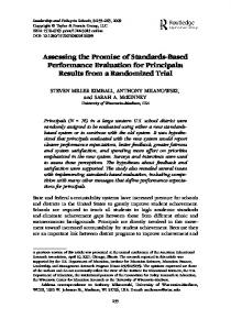 Assessing the Promise of Standards-Based ...