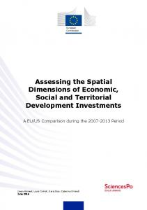 Assessing the Spatial Dimensions of Economic ...