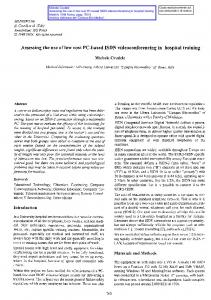 Design and development of low cost pc based real time assessing the use of low cost pc based isdn sciox Image collections