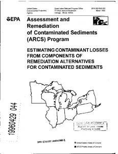 Assessment and Remediation of Contaminated Sediments (ARCS ...