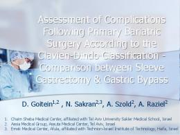 Assessment of Complications Following Primary ...