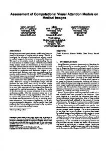 Assessment of Computational Visual Attention Models on Medical ...