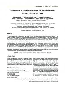 Assessment of coronary microvascular ... - Wiley Online Library