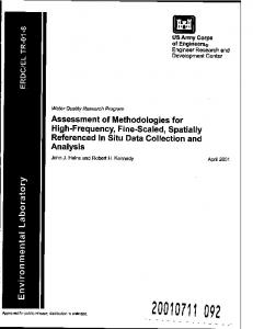 Assessment of Methodologies for High-Frequency ...