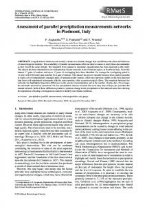 Assessment of parallel precipitation ... - Wiley Online Library