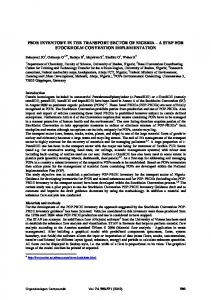 Assessment of persistent organic pollutants in white ... - Dioxin 20XX