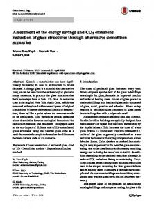 Assessment of the energy savings and emissions ... - Springer Link