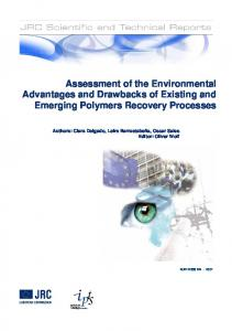 Assessment of the Environmental Advantages and ...