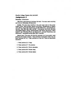 Assignment 3 (PDF) - Oberlin College