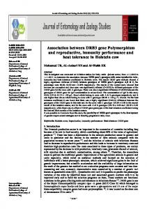 Association between DRB3 gene Polymorphism and ...