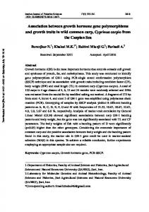 Association between growth hormone gene polymorphisms and ...