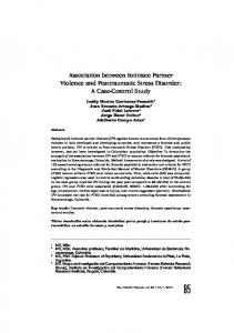 Association between Intimate Partner Violence ... - SciELO Colombia