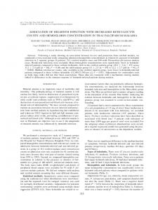 association of helminth infection with decreased ... - CiteSeerX