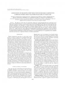 association of helminth infections with increased ... - CiteSeerX