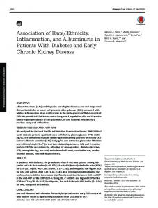 Association of Race/Ethnicity, Inflammation, and ...