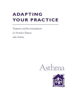Asthma - National Health Care for the Homeless Council