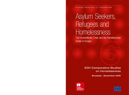 Asylum Seekers, Refugees and Homelessness - European