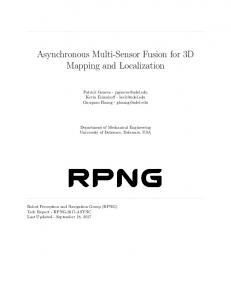 Asynchronous Multi-Sensor Fusion for 3D Mapping and Localization
