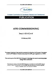 ATF2 COMMISSIONING