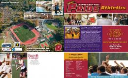 Athletics Brochure - Regis College