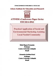 ATINER's Conference Paper Series EDU2014-0942 ...