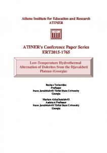 ATINER's Conference Paper Series ERT2015-1765