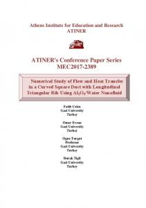 ATINER's Conference Paper Series MEC2017-2389