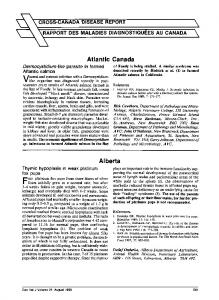 Atlantic Canada - PubMed Central Canada