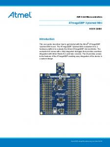 ATmega328P Xplained Mini User Guide (USER GUIDE)