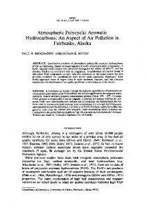 Atmospheric Polycyclic Aromatic Hydrocarbons: An ... - CiteSeerX