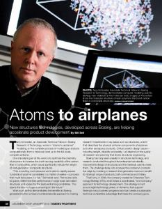 Atoms to airplanes
