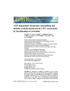 ATP-dependent chromatin remodeling and histone ... - FUNPEC-RP
