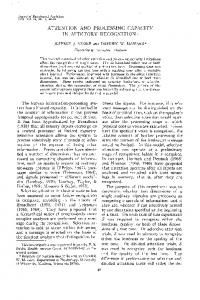 ATTENTION AND PROCESSING CAPACITY IN ... - Semantic Scholar