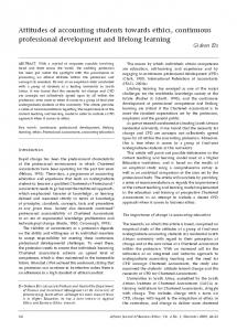 Attitudes of accounting students towards ethics, continuous ...https://www.researchgate.net/...ethics.../Attitudes-of-accounting-students-towards-ethic...