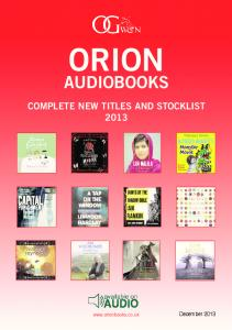 Audio Stocklist - Orion Books