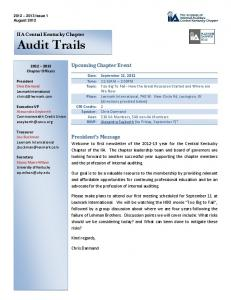 August 2012 CKIIA Newsletter.pdf - The Institute of Internal Auditors
