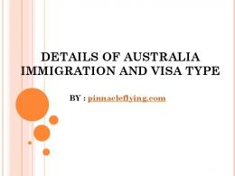 Australia Skilled Immigration Service