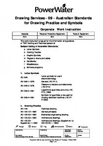 Australian Standards for Drawing Practice and Symbols