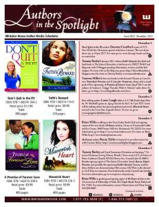 Author in the Spotlight Media Guide