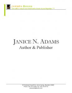 author janice n. adams