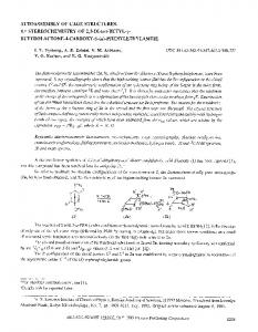 Autoassembly of cage structures. 4. Stereochemistry of ... - Springer Link