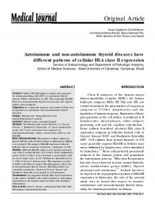 Autoimmune and non-autoimmune thyroid diseases have different