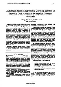 Automata Based Cooperative Caching Scheme to ...