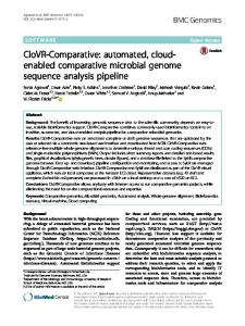 automated, cloud-enabled comparative microbial ... - BMC Genomics
