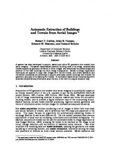 Automatic Extraction of Buildings and Terrain from ... - Semantic Scholar