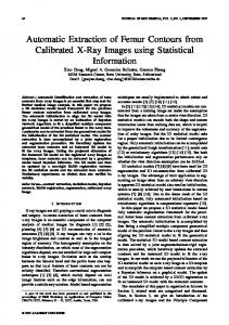 Automatic Extraction of Femur Contours from ... - Semantic Scholar