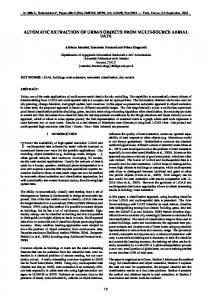 automatic extraction of urban objects from multi ... - Semantic Scholar