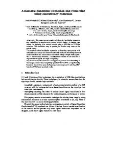 Automatic handshake expansion and reshu ing ... - Semantic Scholar